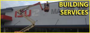 building services 300x109 - Signage