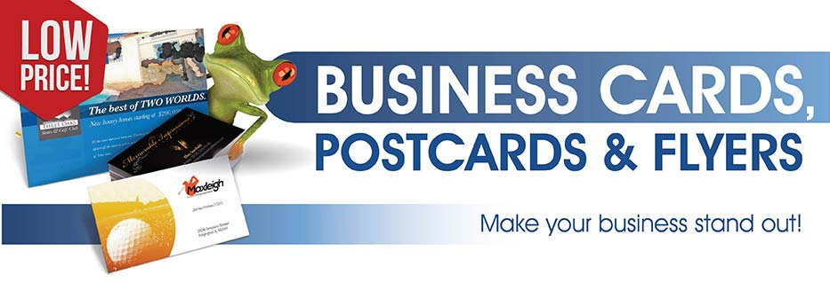 business cards banner - Full Colour Printing