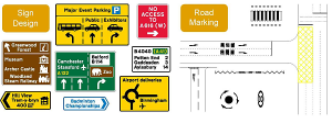 roadmarking 300x112 - Road Signage
