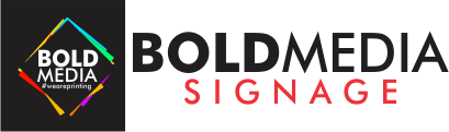 boldmedia website logo - Signage Maintenance